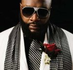 rick ross suit red rose